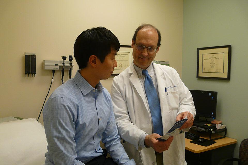 Dr-Snow-educating-patient-horizontal